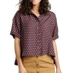 Toad & Co • Cropped Blouse